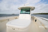 38 ft. Boston Whaler 370 Outrage w/3-300L6 Verado Joystick Center Console Boat Rental The Keys Image 7