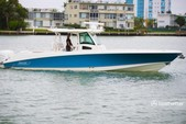 38 ft. Boston Whaler 370 Outrage w/3-300L6 Verado Joystick Center Console Boat Rental The Keys Image 29