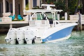 38 ft. Boston Whaler 370 Outrage w/3-300L6 Verado Joystick Center Console Boat Rental The Keys Image 30
