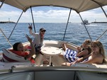 24 ft. Sea Ray Boats 240 Sundeck Bow Rider Boat Rental Los Angeles Image 15