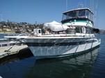 56 ft. Chris Craft 502 Commander Convertible Saltwater Fishing Boat Rental San Diego Image 2