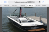 20 ft. MasterCraft Boats ProStar 190 Ski And Wakeboard Boat Rental Rest of Northeast Image 1