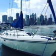34 ft. Catalina 34 Fin Cruiser Boat Rental New York Image 1