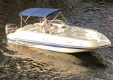 23 ft. Vectra 2302 Bow Rider Boat Rental Miami Image 1