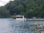 30 ft. Catamaran Cruiser 8x30 Lil Hobo Deluxe Houseboat Boat Rental Washington DC Image 4