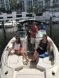 26 ft. Sea Ray Boats 260 Sundeck Bow Rider Boat Rental Miami Image 8