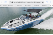 24 ft. Yamaha 242 Limited S E-Series  Jet Boat Boat Rental Dallas-Fort Worth Image 1