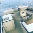22 ft. Crest Pontoons 22 Fisherman Pontoon Boat Rental Daytona Beach  Image 1