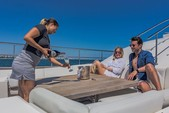 100 ft. 97' Ferretti 97' Ferretti Motor Yacht Boat Rental Miami Image 8