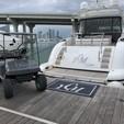 72 ft. Mangusta Maxi Open Motor Yacht Boat Rental Miami Image 17