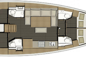 46 ft. Dufour Yachts Dufour 460 Grand`Large Cruiser Boat Rental Horta Image 4