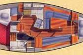 36 ft. Hunter Legend 35.5 Sloop Boat Rental San Francisco Image 3