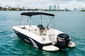 16 ft. Bayliner Element 4-S  Classic Boat Rental Miami Image 2