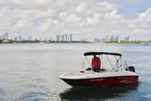 16 ft. Bayliner Element 4-S  Cruiser Boat Rental Miami Image 4