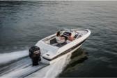 21 ft. Bayliner Element Deck Boat Deck Boat Boat Rental Sarasota Image 1