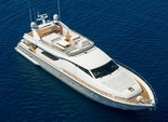 60 ft. Ferretti Flybridge Motor Yacht Boat Rental Miami Image 29