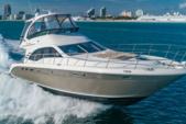 52 ft. Sea Ray Boats 500 Sundancer (V-drive) Motor Yacht Boat Rental Miami Image 5