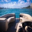 22 ft. Misty Harbor 2285CS Biscayne Bay Pontoon Boat Rental West Palm Beach  Image 6