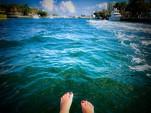 22 ft. Misty Harbor 2285CS Biscayne Bay Pontoon Boat Rental West Palm Beach  Image 2