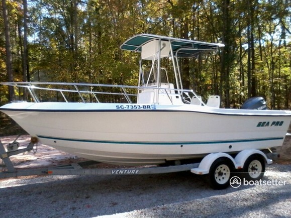 Rent A 2002 21 Ft  Sea Pro Boats 210 Cc In Key Largo  Fl On Boatsetter