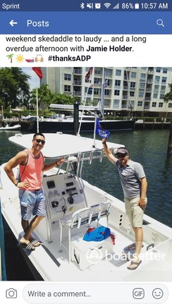 Rent A 2011 24 Ft Pro Line Boats 23 Sport T Top In Fort Lauderdale