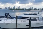 "55 ft. 55"" Uniessee Flybridge Boat Rental Miami Image 1"