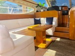 "55 ft. 55"" Uniessee Flybridge Boat Rental Miami Image 5"