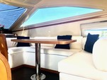 "55 ft. 55"" Uniessee Flybridge Boat Rental Miami Image 6"