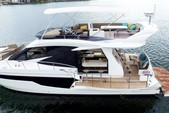 50 ft. Galeon 500 Fly Motor Yacht Boat Rental Miami Image 1