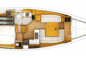 38 ft. Jeanneau Sailboats 38' Sloop Boat Rental Marsh Harbour Image 6