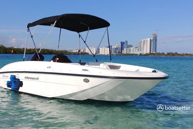 Rent a 2019 16 ft  Bayliner Element 4-S Mercury in Hallandale Beach, FL on  Boatsetter