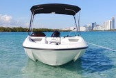 16 ft. Bayliner Element 4-S Mercury  Cruiser Boat Rental Miami Image 3