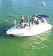 38 ft. Four Winns Boats 358 Vista Cruiser Boat Rental Miami Image 1