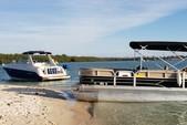 24 ft. Leisure Pontoons 2423 Navigator Deck Boat Boat Rental Miami Image 1
