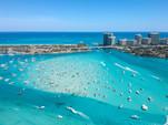 24 ft. Leisure Pontoons 2423 Navigator Deck Boat Boat Rental Miami Image 14