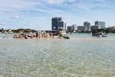 24 ft. Leisure Pontoons 2423 Navigator Deck Boat Boat Rental Miami Image 11