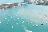 24 ft. Leisure Pontoons 2423 Navigator Deck Boat Boat Rental Miami Image 3