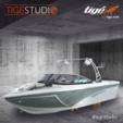 21 ft. Tige' Boats R21 Fish And Ski Boat Rental Minneapolis Image 3