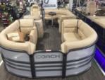 22 ft. COACH 22 BiToon Pontoon Boat Rental Minneapolis Image 1