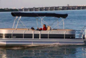 24 ft. COACH 24 TriToon Pontoon Boat Rental Minneapolis Image 2