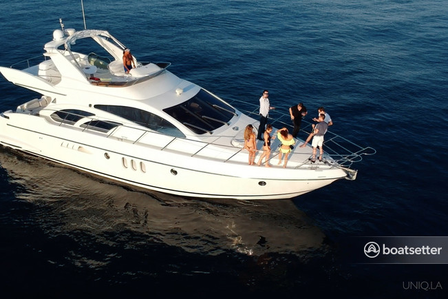 Rent A 2005 60 Ft Azimut Yachts 55 In Marina Del Rey Ca On Boatsetter