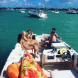 26 ft. Bayliner 2659 Rendezvous Bow Rider Boat Rental Miami Image 46