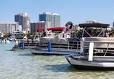 24 ft. Leisure Pontoons 2423 Navigator Deck Boat Boat Rental Miami Image 12