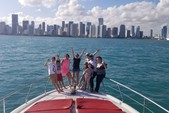 60 ft. Ferretti Flybridge Motor Yacht Boat Rental Miami Image 25