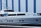 102 ft. Oceanfast Custom Mega Yacht Boat Rental Miami Image 1