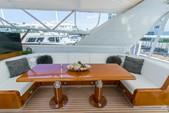 100 ft. Mangusta 100 Motor Yacht Boat Rental Miami Image 4