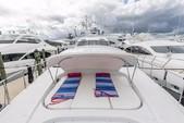 100 ft. Mangusta 100 Motor Yacht Boat Rental Miami Image 8