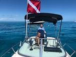 21 ft. Aquasport 215 Explorer OMC Cuddy Cabin Boat Rental The Keys Image 3
