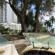 21 ft. Sea Ray Boats 210 Sundeck Cruiser Boat Rental Miami Image 8