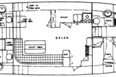 51 ft. Grand Banks 49 Motor Yacht Trawler Boat Rental Fort Myers Image 4
